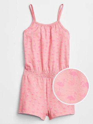 GAP girl romper Pink
