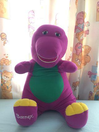 Authentic Barney Doll