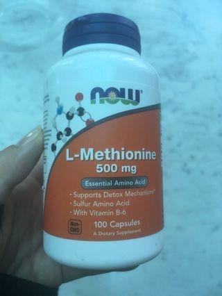 🚚 Methionine Now Foods 500mg