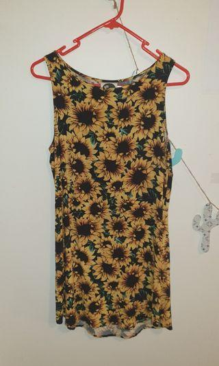 All About Eve Sunflower Dress