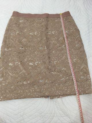 Club Monaco lace skirt