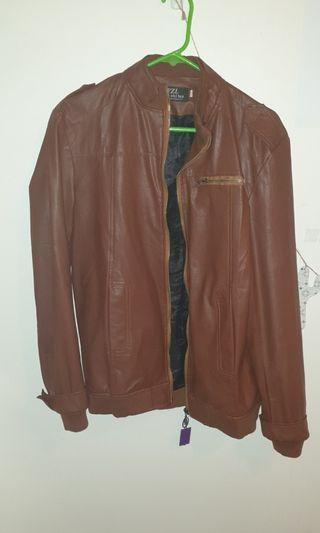 Real Brown Leather Jacket
