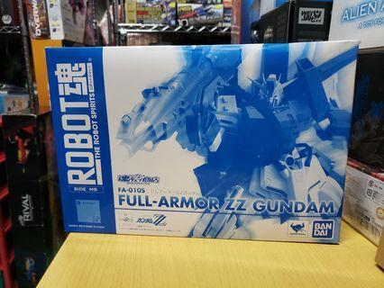 Robot魂 Full Armor ZZ Gundam 魂shop 限定 冇啡盒 盒不完美