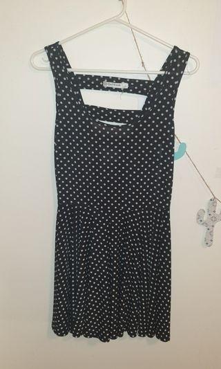Black and White Skate Girl Dress size 8