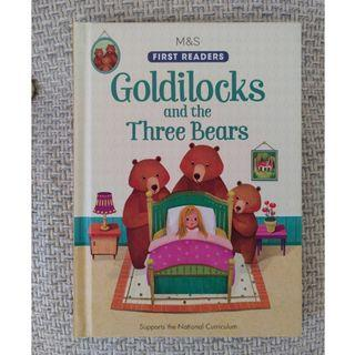 兒童英文書 children's book Goldilocks and the Three Bears