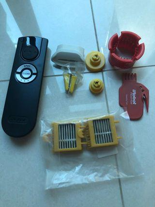 🚚 iRobot roomba 780 accessories / remote control / brushes