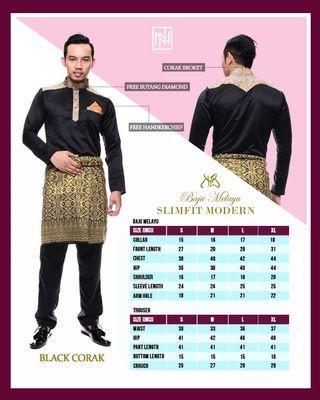 Baju Melayu SlimFit