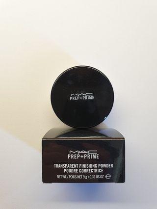 MAC Prep & Prime Transparent Loose Powder