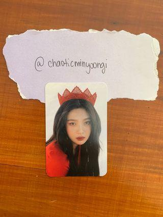 Red Velvet Joy Official Collect Book Photocard