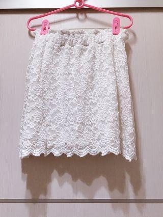 🚚 Pazzo蕾絲花邊短裙
