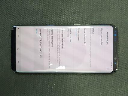 Samsung s8plus 64gb black