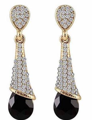 🚚 Fancy party wear earrings