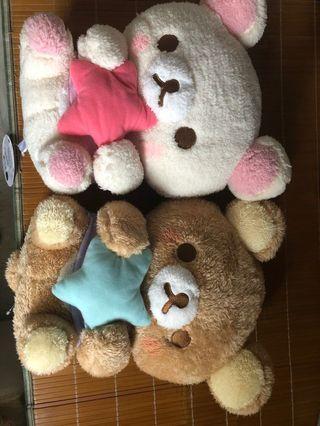 日本限定 可愛睡衣版鬆弛熊 大公仔