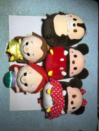 日本景品 迪士尼系列公仔