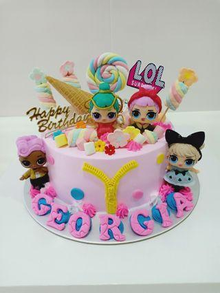 🚚 Birthday Cake lol surprise