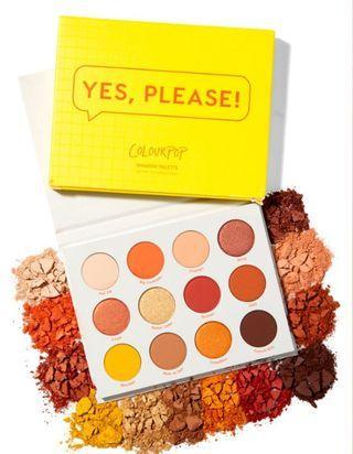 Colourpop eyeshadow palette - Yes, please