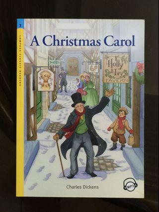 🚚 英語好書附CD A Christmas Carol