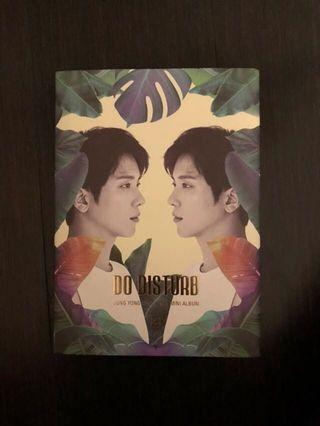 DO DISTURB ALBUM JUNG YONG HWA // CNBLUE // POSTAGE INCLUDED