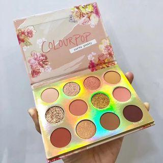 Colourpop eyeshadow palette - sweet talk