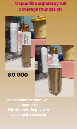 Maybelline Superstay Foundation (Shade 310)
