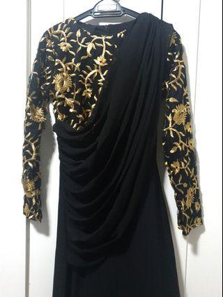 Shawlpublika Taneesha Saree Maxi Dress