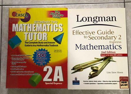 🚚 Secondary 2 Mathematics Assessment Books
