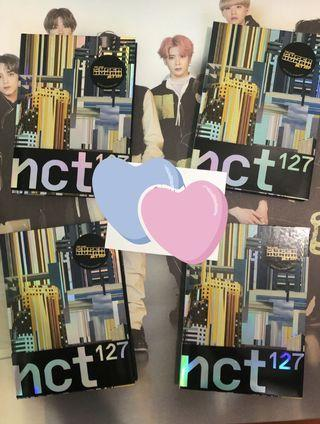 NCT 127 Superhuman albums + posters!
