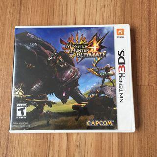 Nintendo 3DS Game Monster Hunter