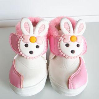 Bunny Pink White Shoes