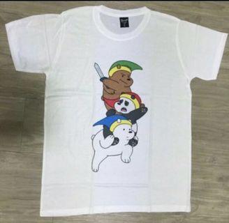 🚚 We Bare Bears Tshirt