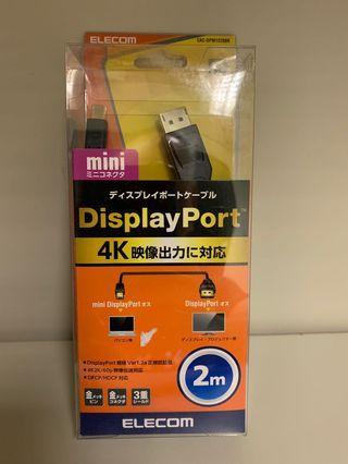 mini display port to display port cable