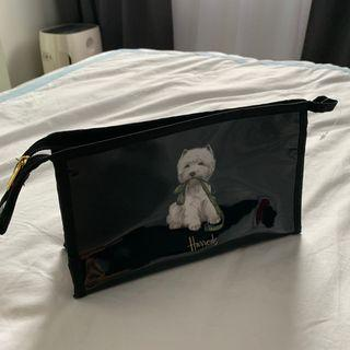 🚚 Authentic Harrods Cosmetic Pouch (Dog)