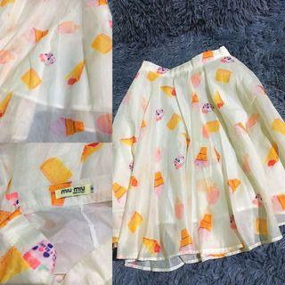 Sale!!! Miu miu sweet skirt