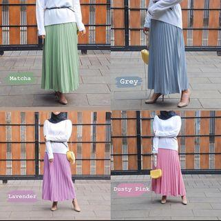 Pleats skirt edition candy