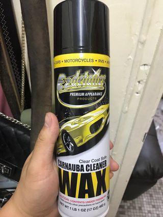 免水洗車打蠟噴劑