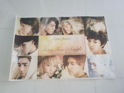 🚚 Super Junior 6 Poster