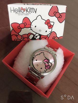 Hello Kitty 凱蒂貓-手錶 有電中