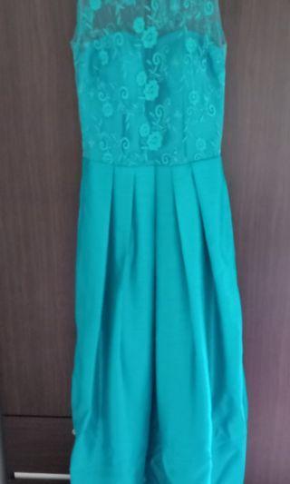 Dress green(long gown)