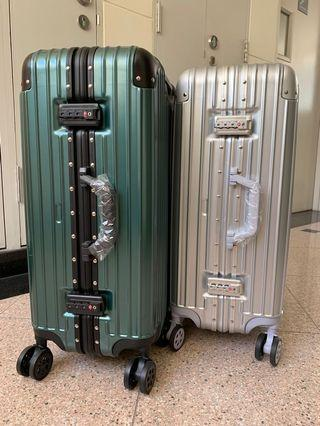 Luggage Aluminium alloy frame with Approval TSA lock size 20/24/26/28 inch