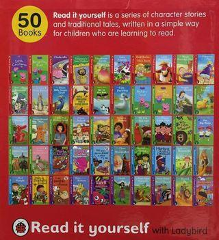 💗UK LADYBIRD READ IT YOURSELF - 50 BOOKS