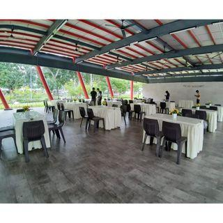 [Rent] Tables and Chairs Rent Rental Cheap Deliver Setup Event Function Wedding Birthday Party Flee Market Roadshow Kenduri Buffet BBQ Barbecue Barbeque Rental Open House Celebration 5