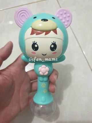 PRELOVED Baby Shaker Hammer & Rattle Toy