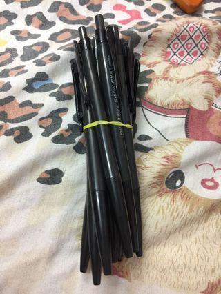 黑色原子筆