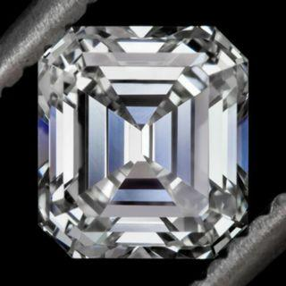 GIA-Emerald Octagon, Resemble to Asscher VVS2 G 1.14cts Diamond. Check for Availability. Ring Making Possible.(RXXX) R2/3/2719