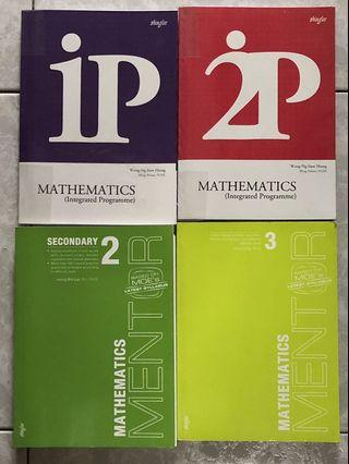 🚚 Secondary 1~3 Mathematics Assessment Books