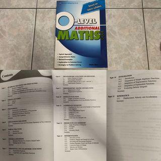 O Level Mathematics Assessment Books