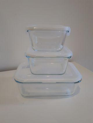 Ikea Food Container Set (3 pieces)