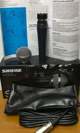 SHURE MIC VOCAL  SM-58