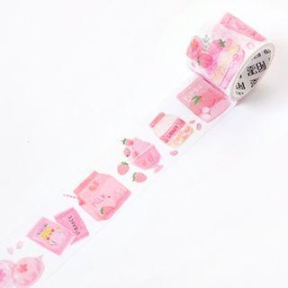 🚚 Japanese Snacks [Peach] Washi Tape