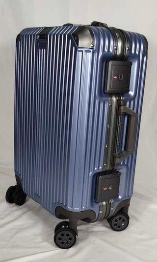 Luggage 2019 new model big lock 20/24/28 no zipper with Aluminium Alloy Frame